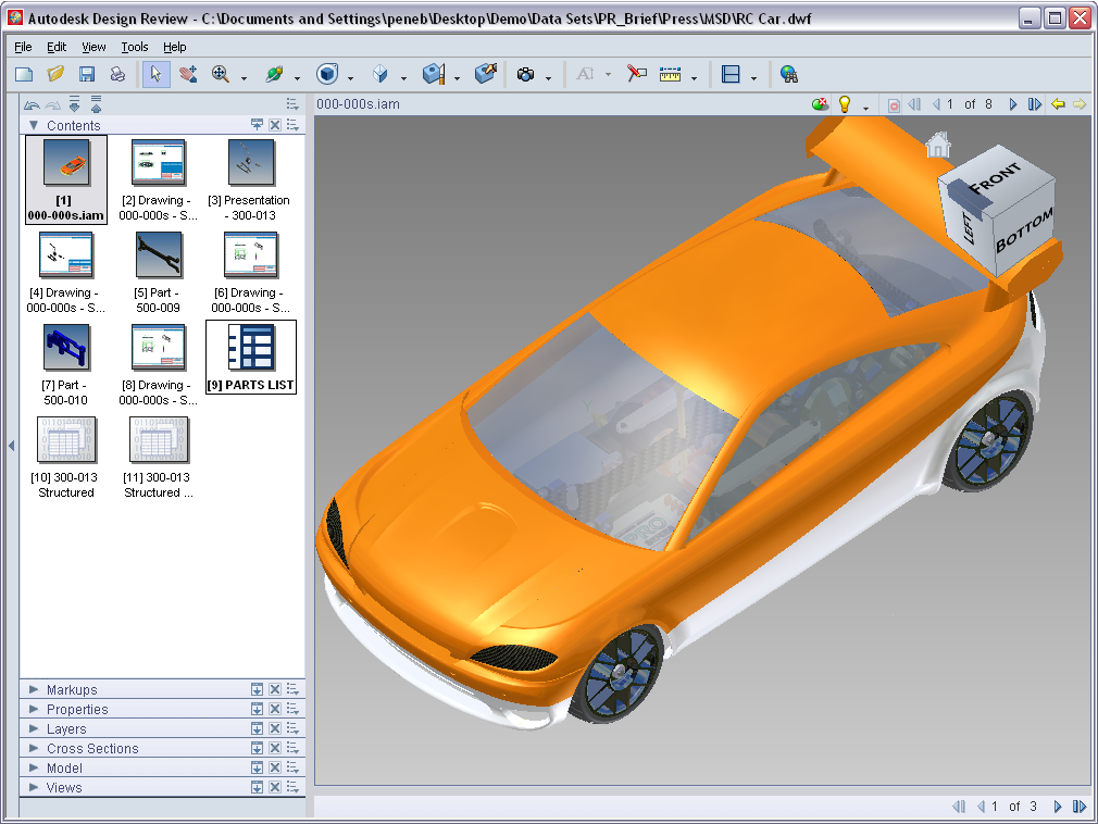 Super Whats New In Autodesk Design Review 2008 Beyond The Paper Largest Home Design Picture Inspirations Pitcheantrous