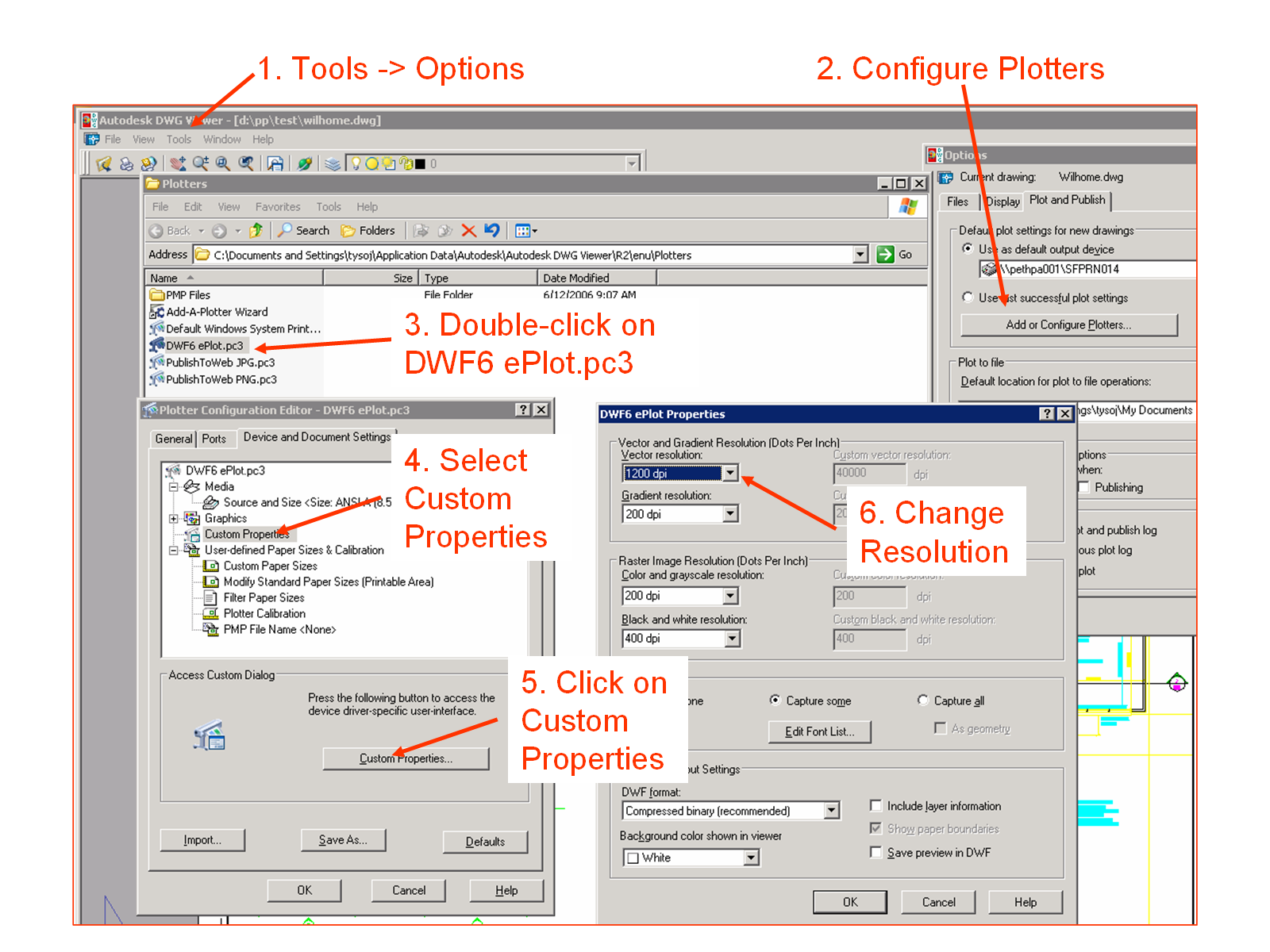Increase Precision for DWF files from Autodesk DWG TrueView - Beyond