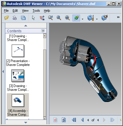 Sample Inventor 11 Composite DWF file - Beyond the Paper